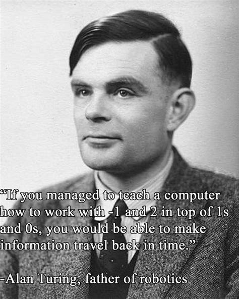 Alan Turing on the speed of information | Quotes | Pinterest