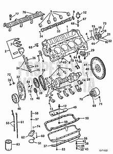 Volvo Penta Exploded View    Schematic Crankcase And Oil