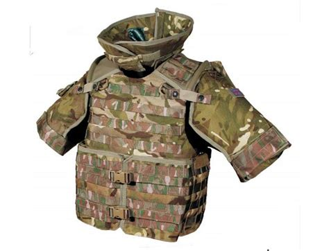 New Body Armour Virtus For Infantry Troops Of British Army