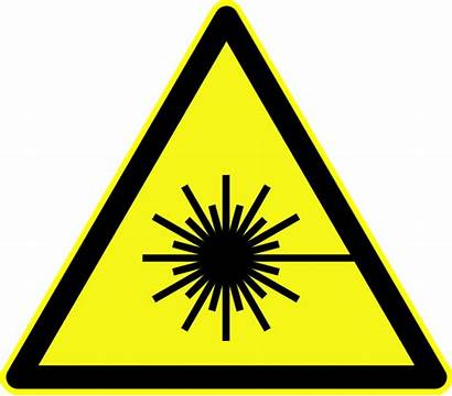 Laser Sign Signs Safety Caution Warning Clipart