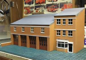Scale Model Fire Stations