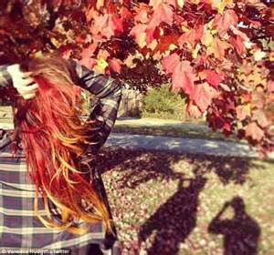 Vanessa Hudgens unveils her new, autumnal hair colour as