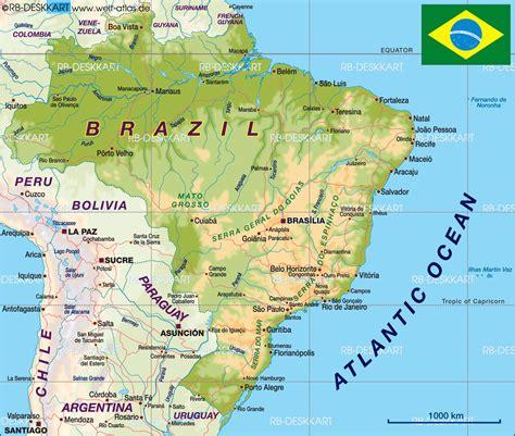manaus brazil map