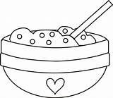 Bowl Cereal Clker Rhyme Webstockreview Makinglearningfun Clipartfest sketch template