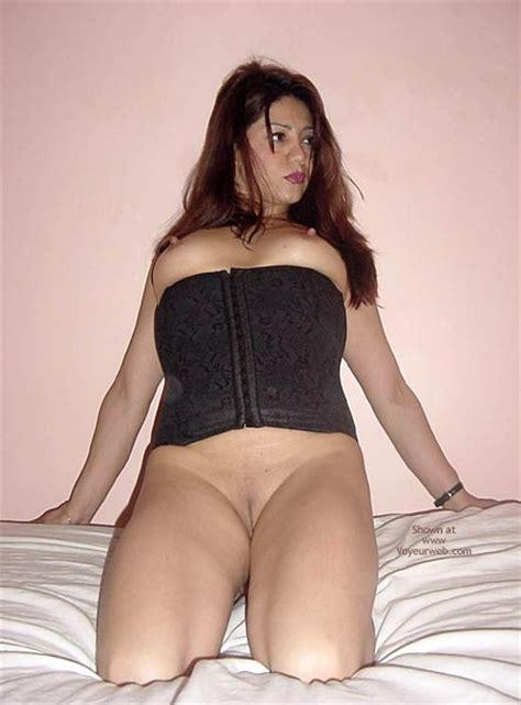 Black Corset Exposed Tits April Voyeur Web Hall Of Fame