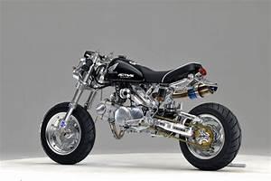 Racing Caf U00e8  Honda Monkey  1 By Gcraft