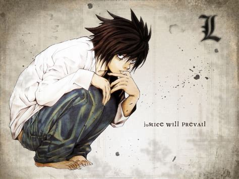 L Death Note Wallpapers High Quality  Download Free