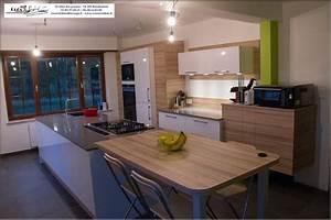 cuisine bleu et taupe With lovely couleur peinture taupe clair 18 cuisine marron ikea
