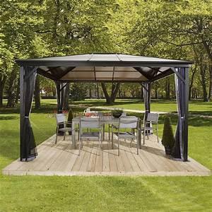 Pavillon Mit Doppelstegplatten : pavillon verona 10x10 von g rtner p tschke ~ Whattoseeinmadrid.com Haus und Dekorationen