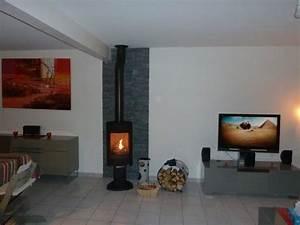 Parement Bois Mural : parement mural en ardoise naturelle chemin e pinterest ~ Premium-room.com Idées de Décoration