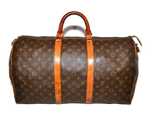 louis vuitton keepall  duffle bag luggage medium lv monogram