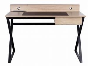 Bureau But Noir : meuble bureau et ordinateur pas cher ~ Teatrodelosmanantiales.com Idées de Décoration