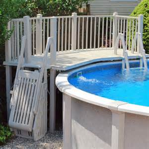 above ground pool steps and ladders pool accessories in the swim pool supplies
