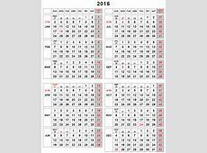 Julian Week Calendar 2016 Calendar Template 2018