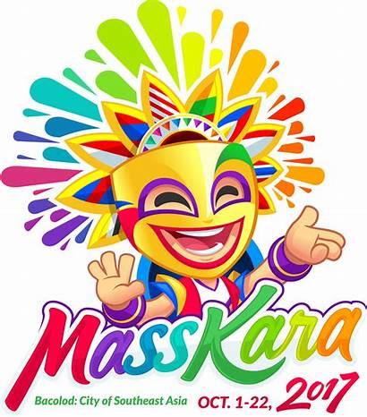 Masskara Festival Clipart Philippines Bacolod Firsttimetravels Asean