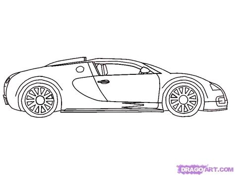 Step 6. How To Draw A 2010 Bugatti Veyron