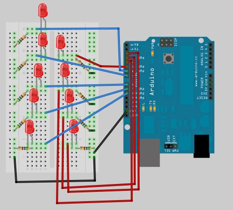 arduino project    flashy christmas lights