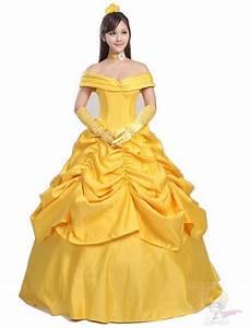 Deguisement Princesse Disney Adulte : location de costume en ligne de belle de la belle et la ~ Mglfilm.com Idées de Décoration