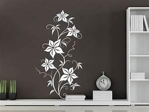 Sticker Für Die Wand Kinderzimmer : wandtattoo dekor bl tenranke bei ~ Michelbontemps.com Haus und Dekorationen