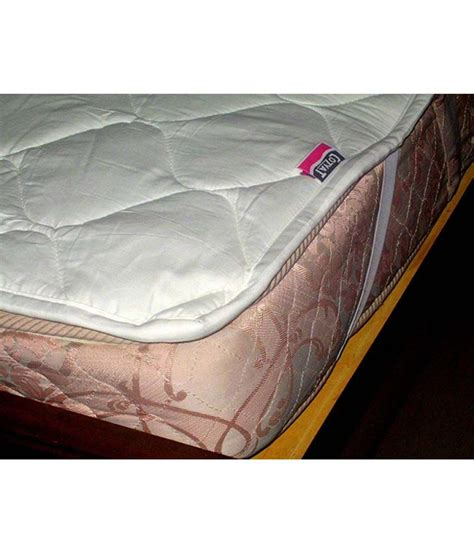 king size mattress protector cozyat quilted cotton mattress protector king size buy