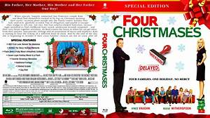 Four Christmases - Movie Blu-Ray Custom Covers ...