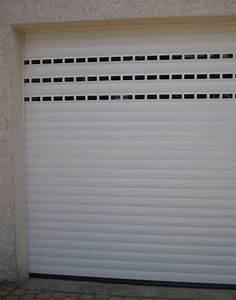 porte de garage enroulable avec hublot With porte de garage enroulable avec porte intérieure avec hublot