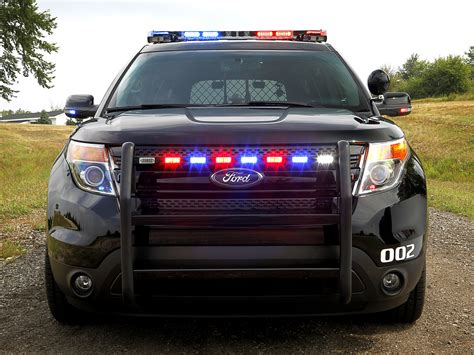 Ford Explorer Police Interceptor Utility Vehicle 2018 Ford