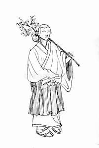 Demon Japonais Dessin : dessin japonais de moine photo stock image du costume 31472310 ~ Maxctalentgroup.com Avis de Voitures