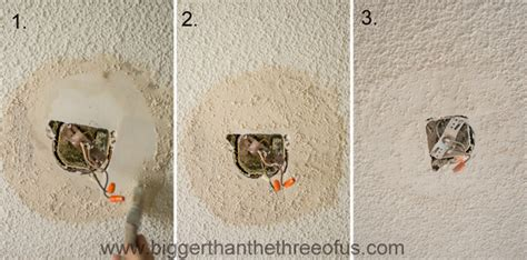 hometalk drywall popcorn ceiling repair    easy