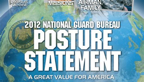 posture bureau posture statement army national guard