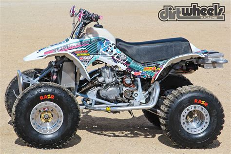 Dirt Wheels Magazine  Project Atv Honda Trx250r