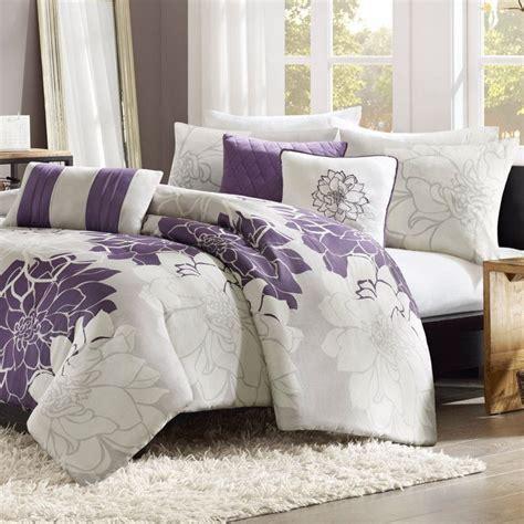 King Bedroom Duvet Sets by Purple And Grey Floral Duvet Set And King Size