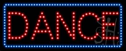 Sign Dance Animated Led Neon Signs Entertainment