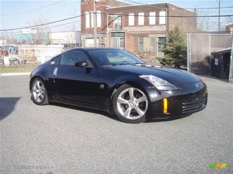 nissan coupe 350z super black 2004 nissan 350z enthusiast coupe exterior