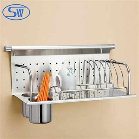 Wdj506 Stainless Steel Kitchen Rack Wall Hanging Plate