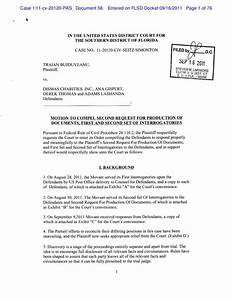 motion to compel second request for production of With request for production of documents template