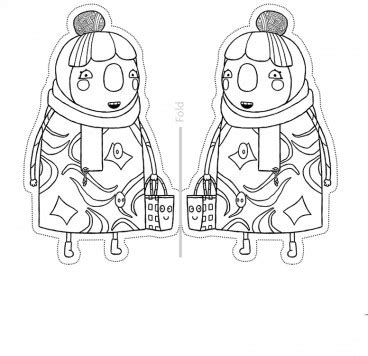 Gambar Awesome Sarah And Duck Coloring Pages Ornament Resume Jpeg ...