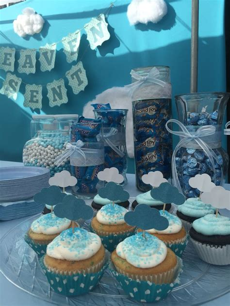 heaven themed baby shower 26 best images about heaven sent theme baby shower on pinterest themed baby showers baby