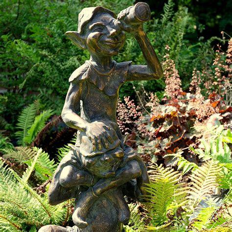 garden ornamentspixie garden sculpturesbronze pixies
