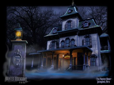 Disney Haunted Mansion Wallpaper Stencil