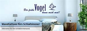 Wandtattoo Für Schlafzimmer : deko f r schlafzimmer wandtattoo wandtattoos kaufen wall ~ Buech-reservation.com Haus und Dekorationen