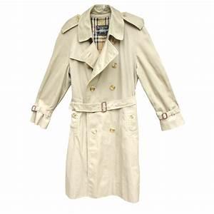 Trench Coat Burberry Homme : manteaux homme burberry trench coat coton polyester beige joli closet ~ Melissatoandfro.com Idées de Décoration