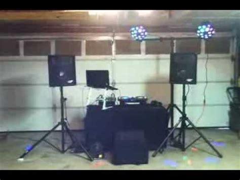 simple dj lighting setup dj basic setup youtube
