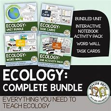 Ecosystems  Powerpoint, Handouts, Inb, Task Cards, Word Wall  Powerpoint Lesson, Ecology And