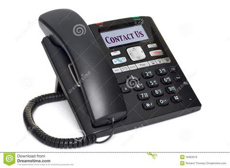 telephone de bureau contact téléphonique de bureau que nous ont isolé sur le