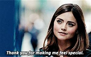 Jenna Coleman Thank You GIF - Find & Share on GIPHY