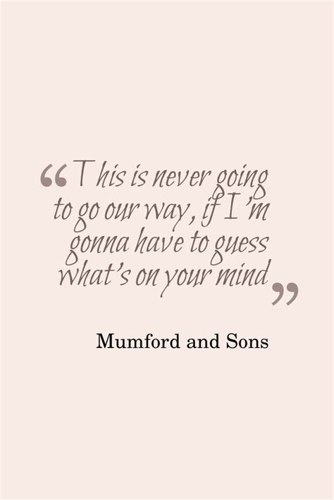 mumford sons music mumford and sons believe my heart in a song