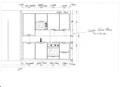 hauteur meuble bas cuisine meuble haut de cuisine quelle hauteur mobilier design