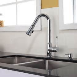 Kitchen Faucet Kraus Single Lever Pull Out Kitchen Faucet Chrome Kpf 1650ch Modern Kitchen Faucets New