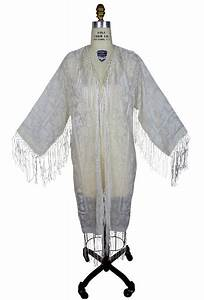 Art Deco Haus : art deco scarf coat in wedding ivory by the deco haus ~ Watch28wear.com Haus und Dekorationen